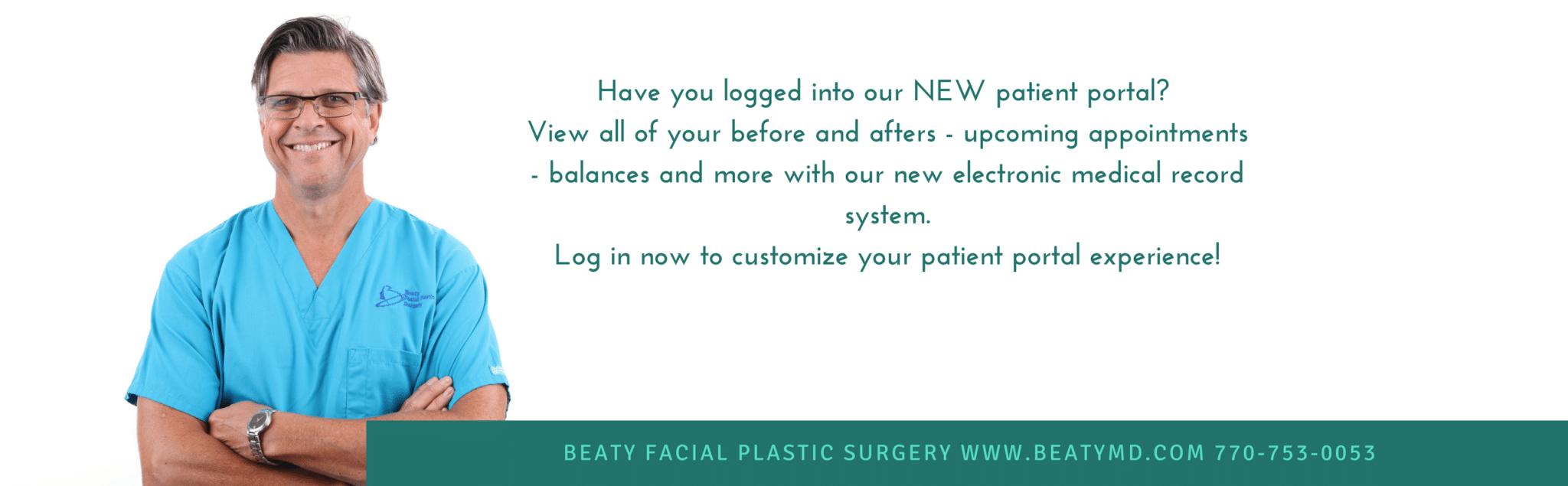 Beaty Facial Plastic Surgery Patient Portal